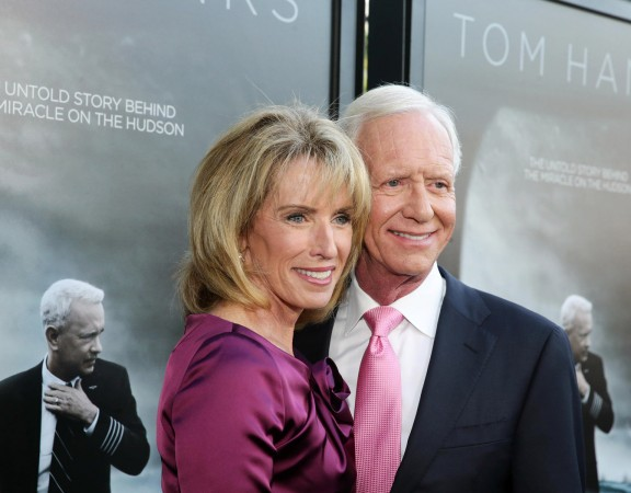 Lorrie Sullenberger, Chesley Sullenberger
