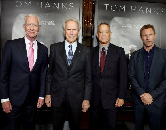 Chesley Sullenberger, Clint Eastwood, Tom Hanks, Aaron Eckhart
