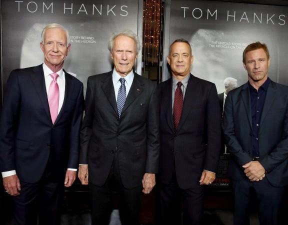 Chesley Sullenberger, Clint Eastwood, Tom Hanks, Aaron Eckhart