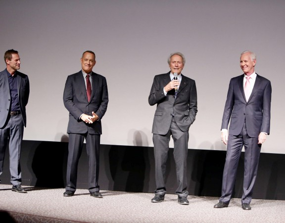 Aaron Eckhart, Tom Hanks, Clint Eastwood, Chesley Sullenberger
